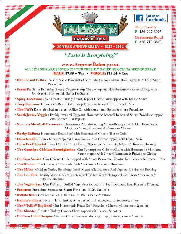 Aversa-Menu_Turnersville-Hoagies